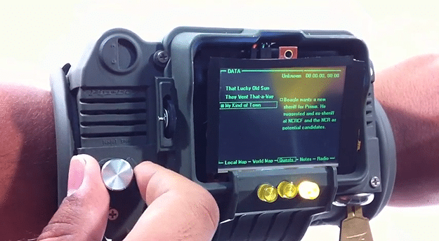 Working PIP-Boy 3000 Replica