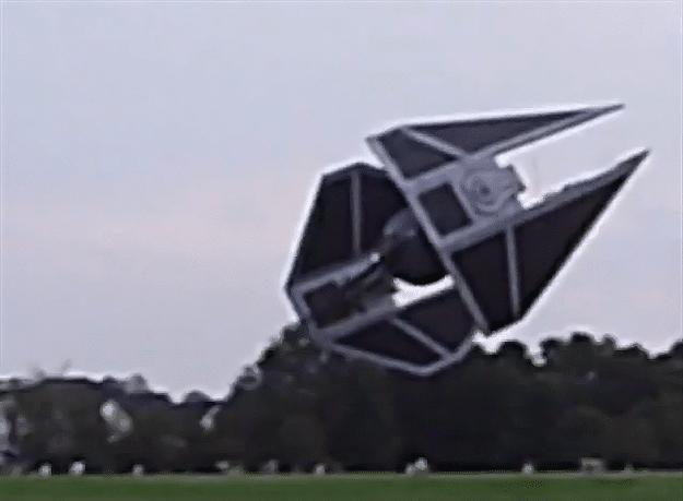 Working Star Wars Spaceships