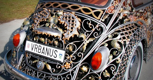 Modified Volkswagen Makes The Road A Classic Artshow