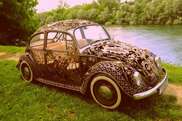 Wrought Iron Modified Volkswagen