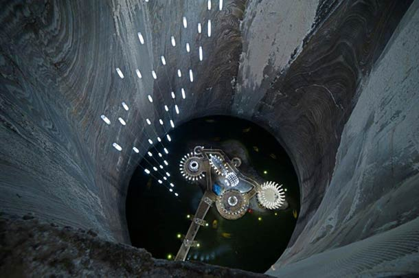 Abandoned Salt Mine Converted Into Epic Underground Amusement Park