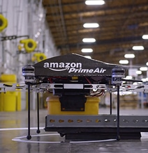Amazon Demoes Their Future Drone Delivery System