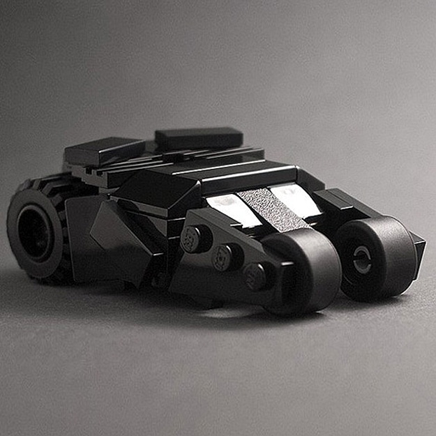 probably the coolest smallest batman lego tumbler. Black Bedroom Furniture Sets. Home Design Ideas