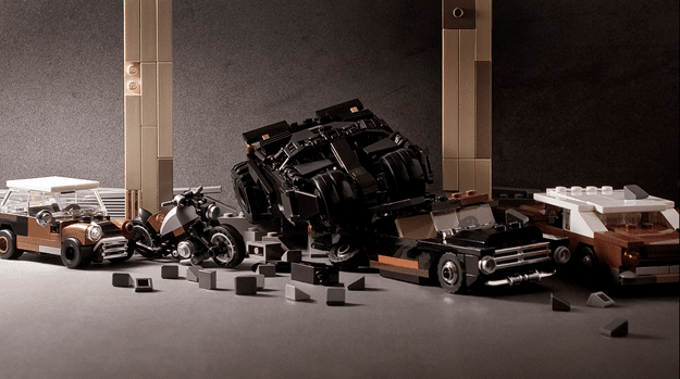 Probably The Coolest & Smallest Batman LEGO Tumbler Replica Ever