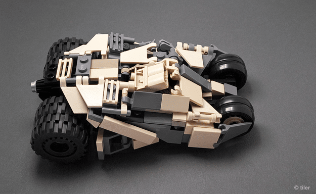 Batman LEGO Tumbler Replica