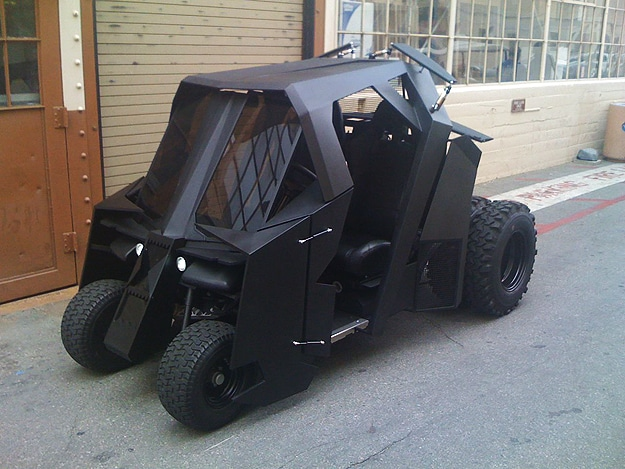 Batman Tumbler Golf Cart: Most Epic Way To Get Around The Golf Course