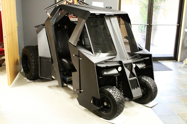 Batman Tumbler Golf Cart