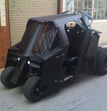 Batman Tumbler Golf Cart Build