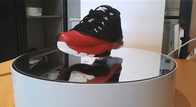 Guy Builds Remarkable Device That Enables Levitating Shoes