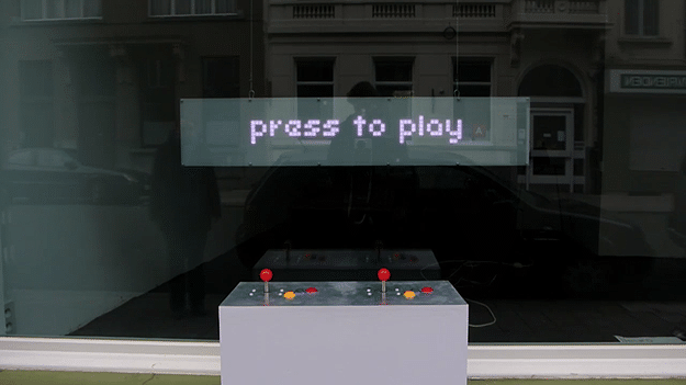 Creative Video Game Storefront