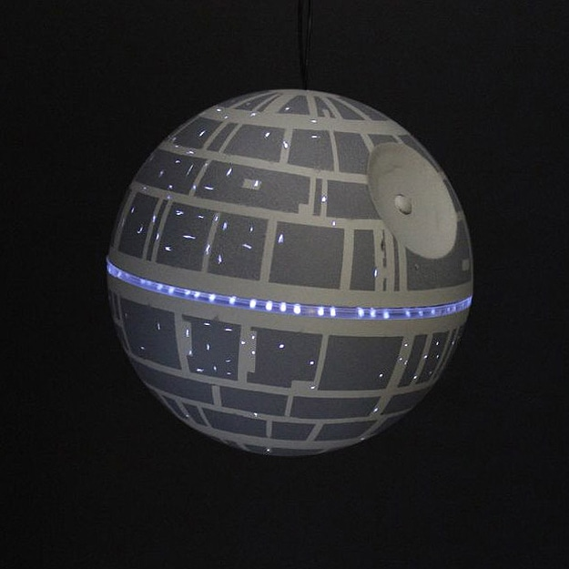 Light-Up Death Star LED Ornament Is A Must-Have For Star Wars Fans