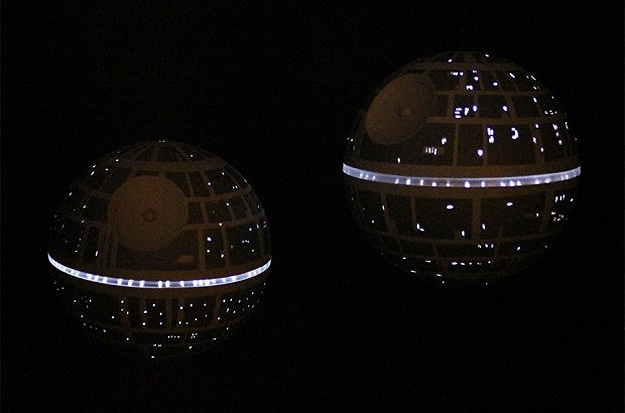 Death Star LED Ornament