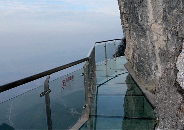 Epic Mountain Glass Skywalk