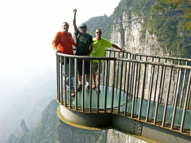 Epic Mountain Glass Skywalk