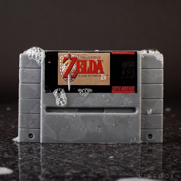 Geeky Clean Nintendo Soaps