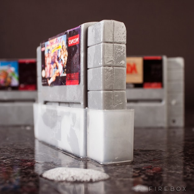 Geeky SNES Cartridge Soaps