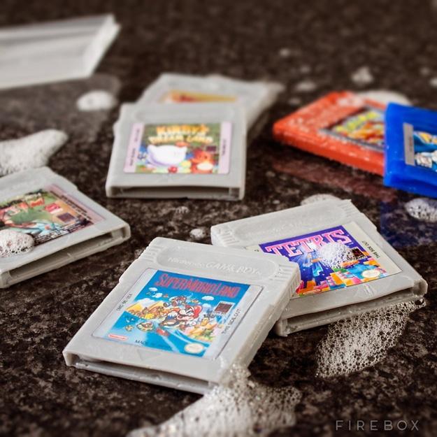 Geeky SNES Cartridge Soaps