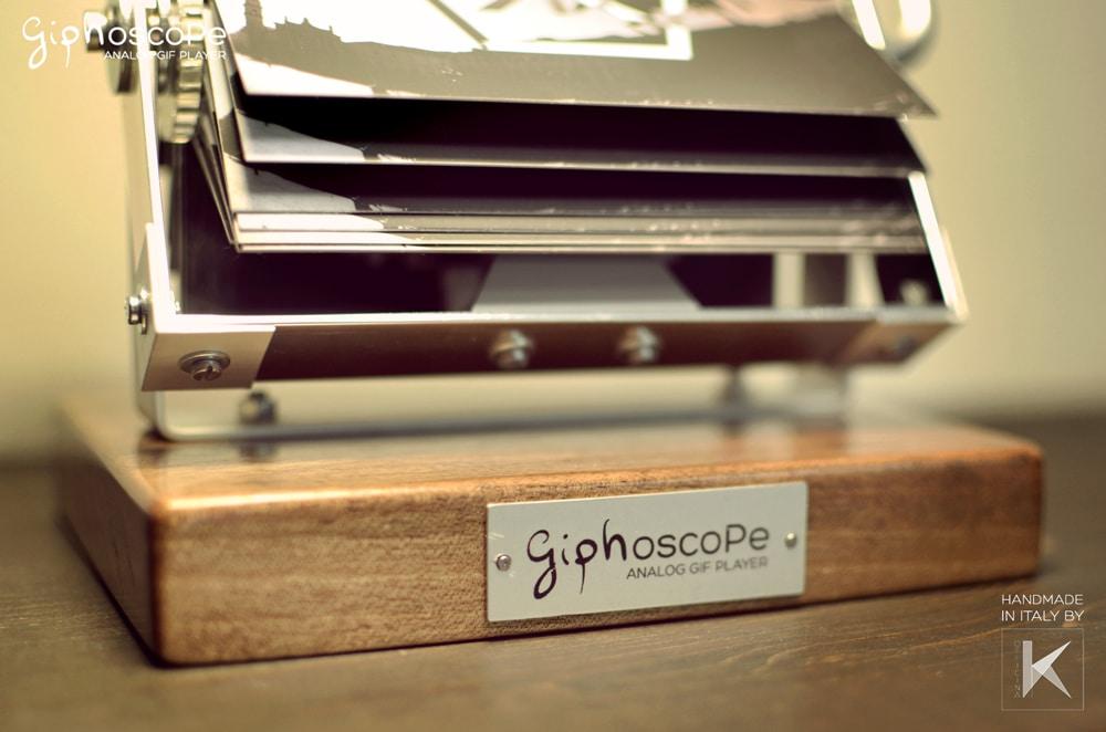 Giphoscope Crank Animated GIF