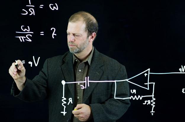 Michael Peshkin Lightboard Invention