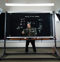 Teacher Creates Groundbreaking New Transparent Lightboard