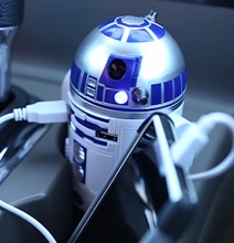 R2-D2 USB Car Charger Is Your Perfect Travel Companion