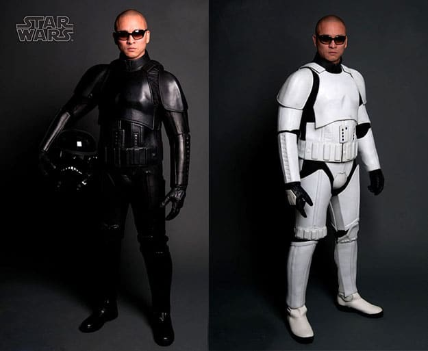 Replica Stormtrooper Motorcycle Suits