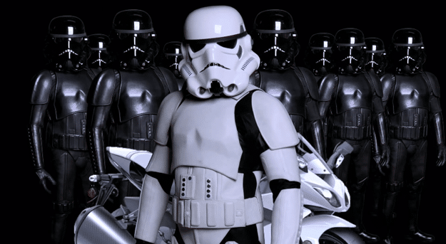 Replica Stormtrooper Motorcycle Suits
