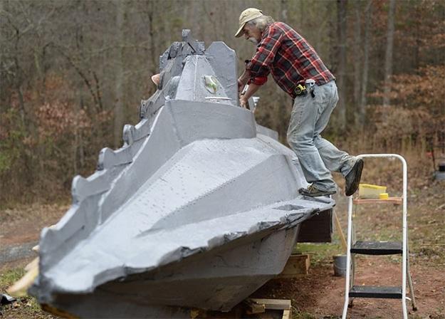 Scale Nautilus Submarine Replica