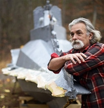 Captain Nemo Fan Builds 32-Foot Replica Of The Nautilus Submarine