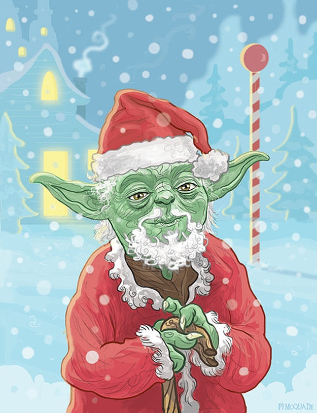Star Wars Christmas Cards