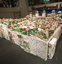 Behold The World's Largest Gingerbread Village Too Beautiful To Eat