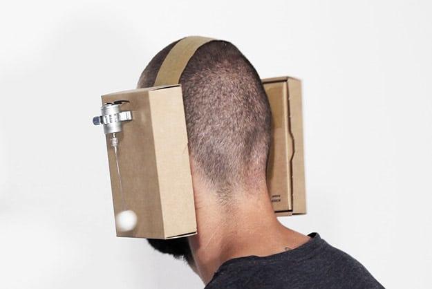 Zimoun DIY Cardboard Headphones