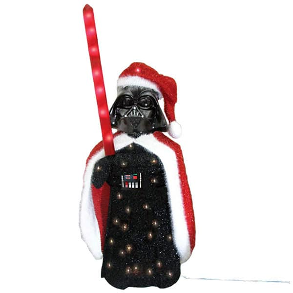 darth vader tinsel santa