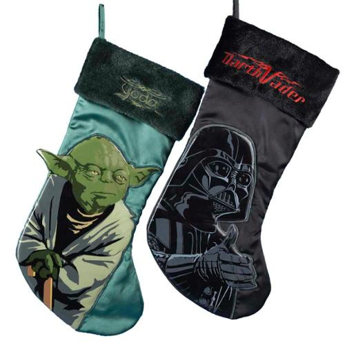 darth vader yoda applique stockings