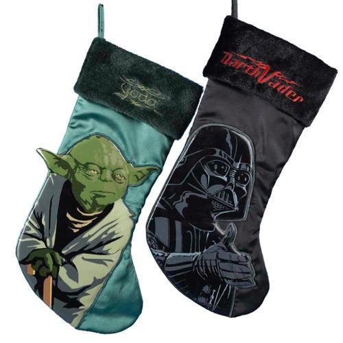 darth vader yoda applique stockings