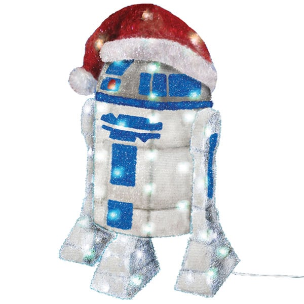 r2d2 tinsel Christmas decoration