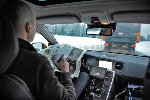 In-Car Technology Autonomous Cars