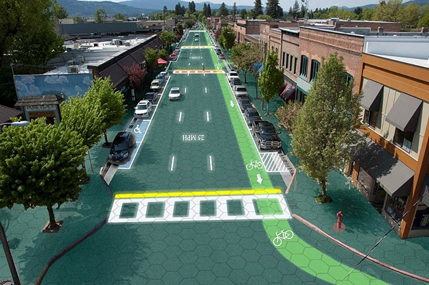 Intelligent Solar Roadways Concept