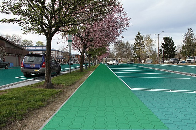 Intelligent Solar Roadways Concept