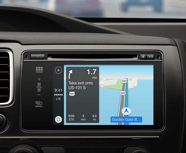 Apple CarPlay iPhone Integration