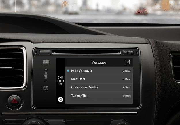 Apple CarPlay iPhone Integration