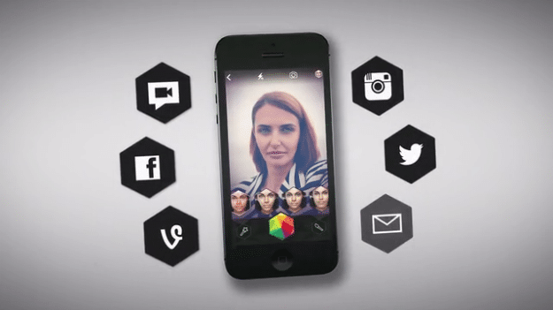 Looksery Facial Recognition App