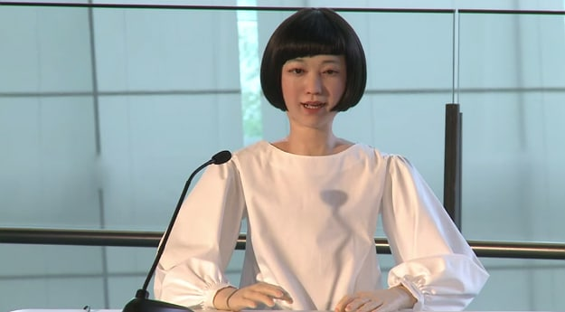 Japan Unveils World's First Android Newscaster