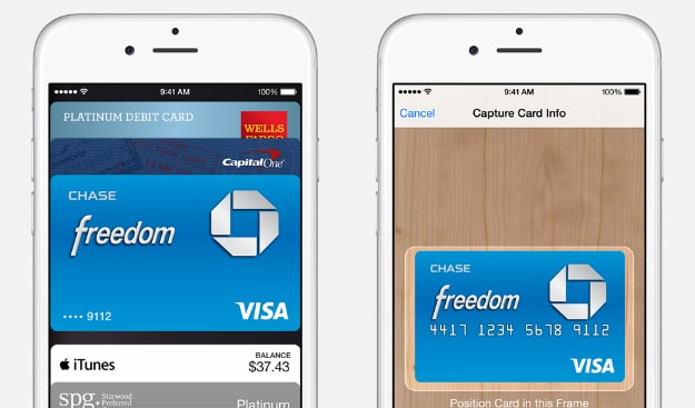 Apple Pay NFC Feature Header