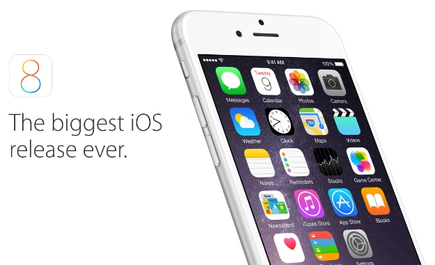 Apple iOS 8 Features Header