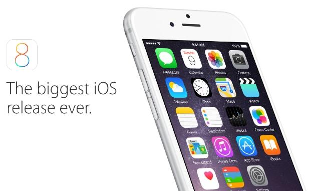 Apple iOS 8 Features Header