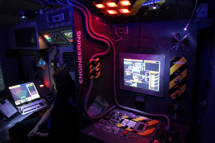 DIY Hackers Convert RV Into Epic Spaceship Simulator