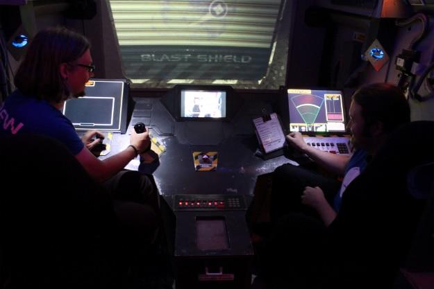Converted RV Spaceship Simulator
