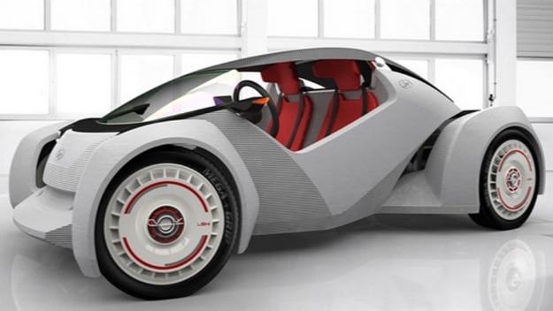 First 3D Printed Car