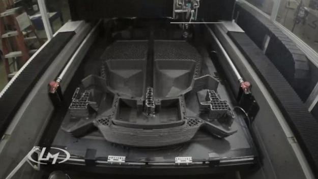 First 3D Printer Car